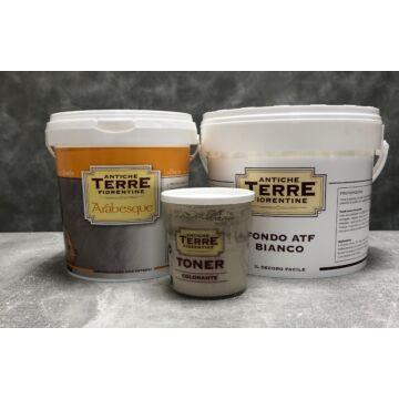 Arabesque csomag ~20 m² falfelületre speciális színezőpasztával