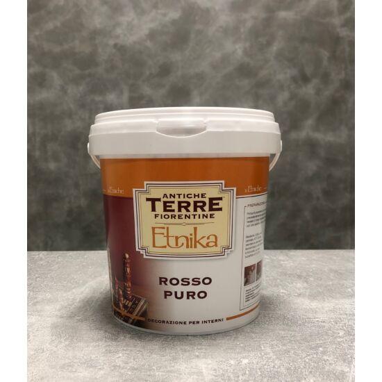 Beltéri falfesték - Etnika Rosso Puro 2,5 liter