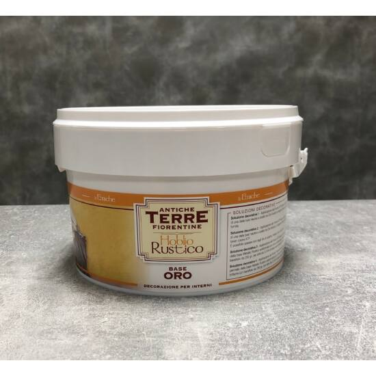 Beltéri falfesték - Hoblio Rustico Oro (arany) 1,25 liter