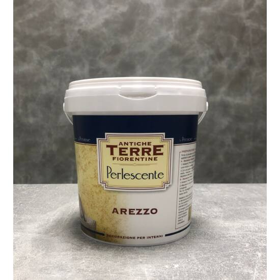 Beltéri falfesték - Perlescente Arezzo (sárga) - 2,5 liter (1 256 Ft/m2-től)